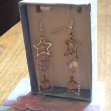 Beautiful handmade hallmarked sterling silver drop earrings custom made to order